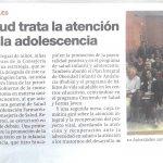 09-11-2017-Diario Córdoba- Un curso de Salud trata la atención a la infancia y a la adolescencia