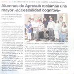 27-09-2017-Diario Córdoba - Alumnos de Aprosub reclaman una mayor accesibilidad cognitiva