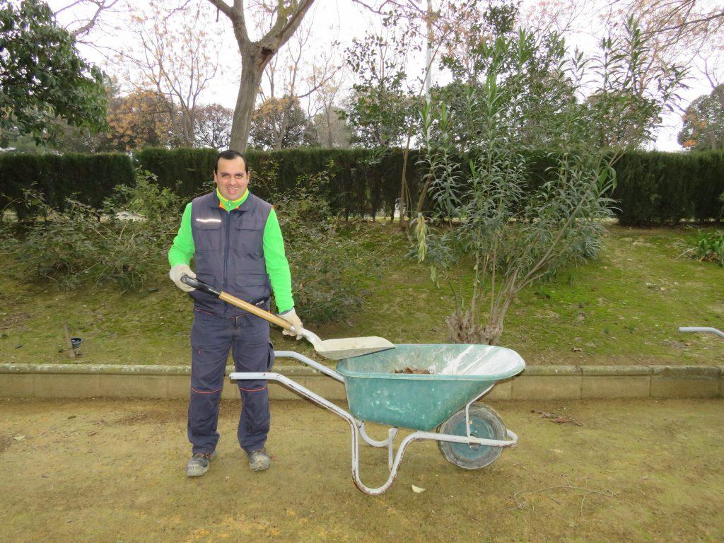 Empleo con Apoyo, Mantenimiento jardines